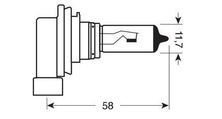 Ampoules phares auto puissantes H3 PowerVision 50