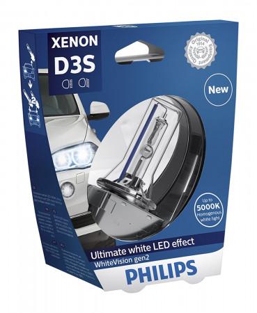 Ampoule Xénon D3S Philips WhiteVision gen2