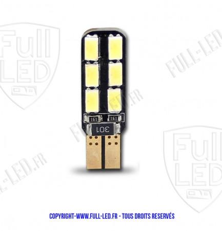 Ampoule Led W5W - Dual Face 12 - Anti-erreur ODB