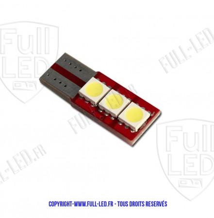 Ampoule Led W5W - One Face 3 - Anti-erreur ODB