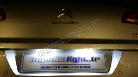 Eclairage de plaque à Led  pour Citroën Xantia