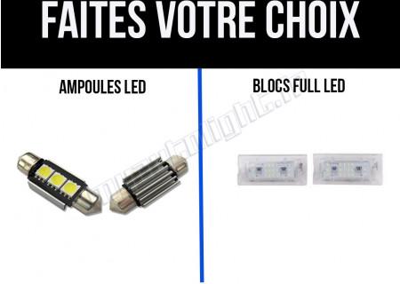 Eclairage de plaque à Led pour Mini Cooper Cabriolet/Coupé R52/R57/R58