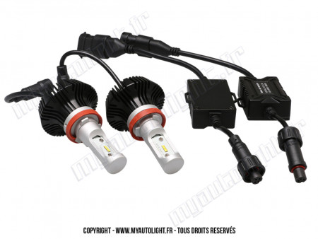 Kit Ampoules Led Vision H8