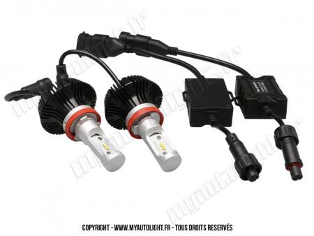 Kit Ampoules Led Vision H9