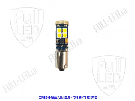 Ampoule Led H6W - Panther 12 - Anti Erreur