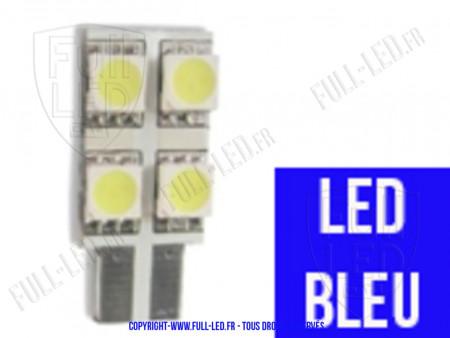 Ampoule Led W5W BLEU - One Face 4