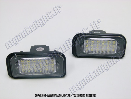 Modules Full led plaque - MERCEDES Classe C W203