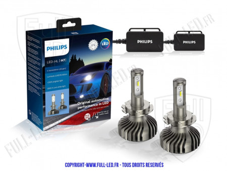 Kit LED H7 - Philips X-Treme Ultinon Gen2.