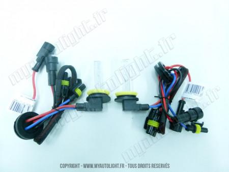 Ampoules Xénon H9 55W 6000K