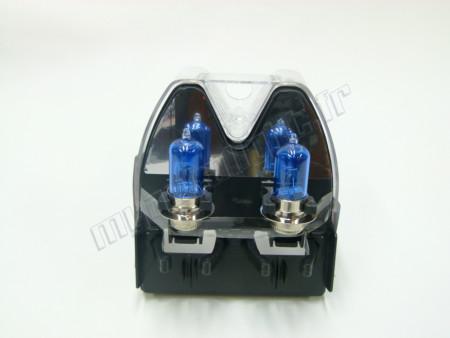 Pack 2 ampoules H6M P15D-25-1 Effet Xénon 6000K