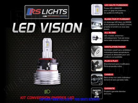Kit LED Vision H7-VW5K - RSLIGHTS