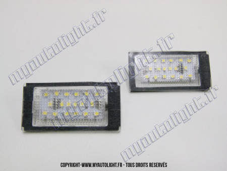 Modules Full led plaque - BMW Série 3 E46 coupé