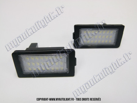 Modules Full led plaque - BMW Série 7 E38