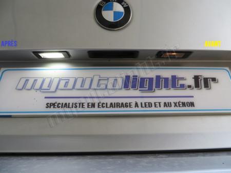 Eclairage de plaque à Led pour BMW Z3