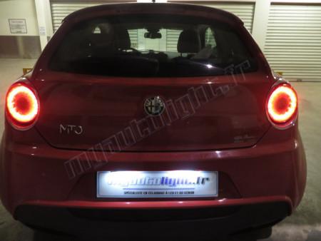 Eclairage de plaque à Led pour Alfa Romeo Mito