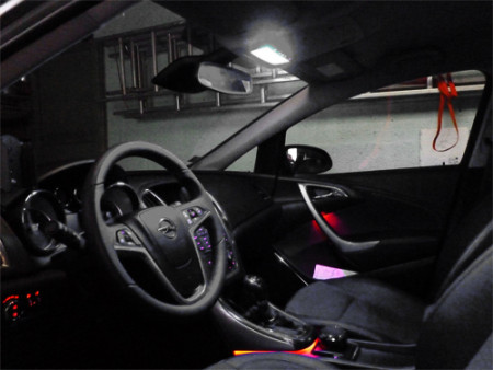 Pack Full Led intérieur Opel Astra H