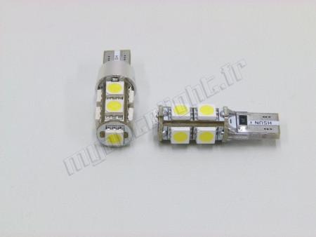 Veilleuses Led T10 Xtrem9- 9 LED - Anti Erreur ODB
