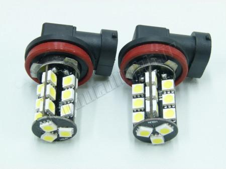 Pack Ampoules LED H8 - 27 Led