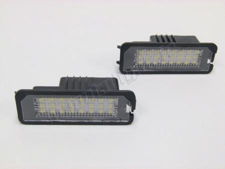 Blocs LED éclairage de plaque pour Seat Altéa