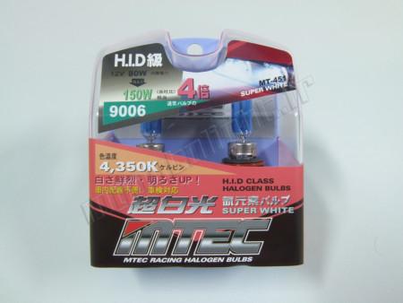 Pack 2 ampoules HB4 Effet Xénon - Mtec - Super White High Performance 80W