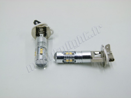 Pack Ampoules H3 LED 50W