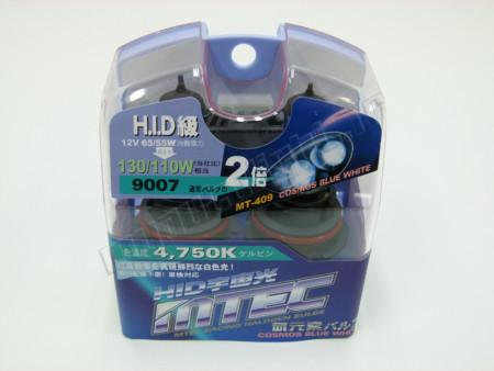Pack 2 ampoules HB5/9007 Effet Xénon - Mtec - Cosmos Blue