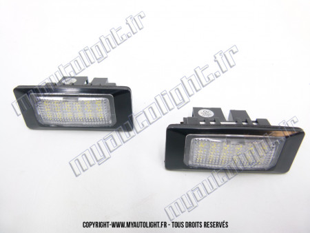 Modules Full led plaque - Audi Q5 A5 A4 B8