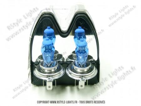 Pack 2 ampoules H4 Effet Xénon HOD
