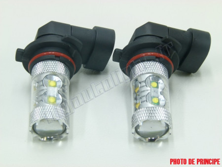Pack Ampoules Anti Brouillards LED pour Audi A4 B8