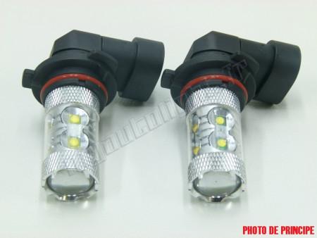 Pack Ampoules Anti Brouillards LED pour Opel Agila B