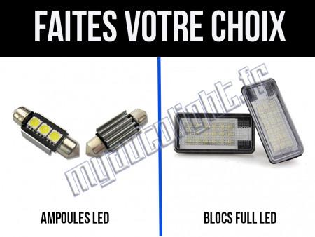 Eclairage de plaque à Led pour Audi A8 D3