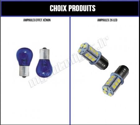Pack Veilleuses/Feux de Jour Led pour Citroen C4 II