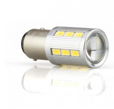 Ampoule Led P21/5W -  21 LED - Blanc Pur