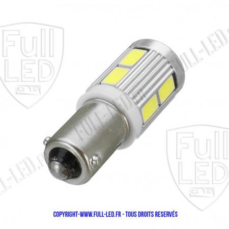 Ampoule Led H6W - Silver 10 - Anti Erreur