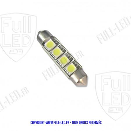 Ampoule Led ROUGE - Navette C10W