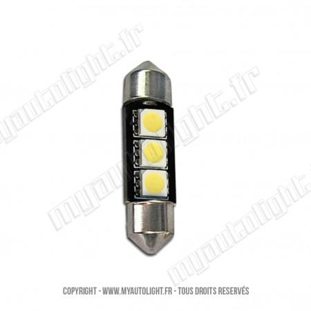 Ampoule Led BLEU - Navette C5W
