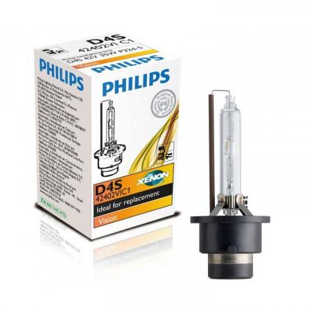 Ampoule Xénon D4S Philips Vision