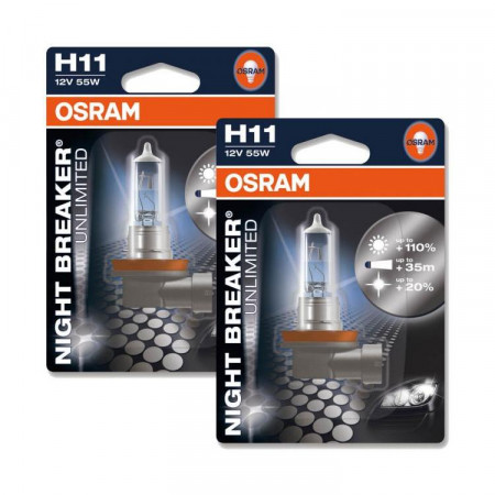 Ampoules H11 Osram Night Breaker Unlimited