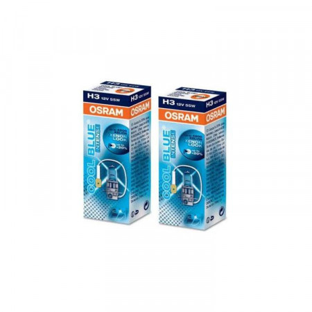 Ampoules H3 Osram Cool Blue Intense