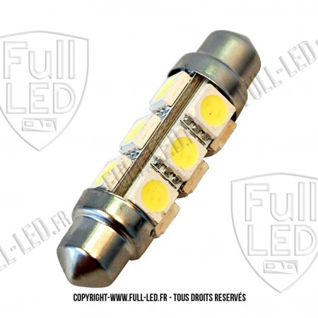 Ampoule Led Navette C10W - All Face 360°