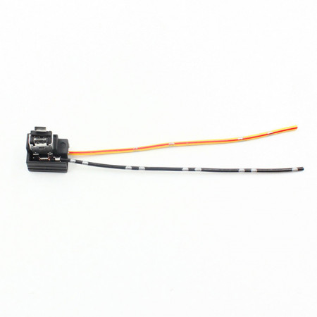 Connecteur câblé ampoule phares H1 avec masse