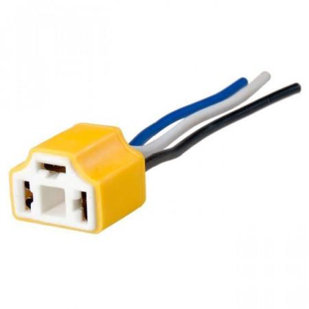 Connecteur câblé ampoule phares H4