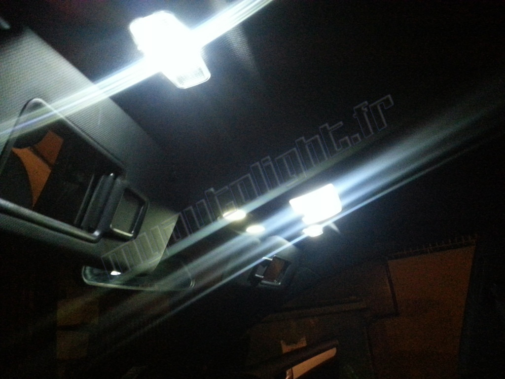 Intérieur led ampoules kit blanc coupe skoda octavia 2004-2010