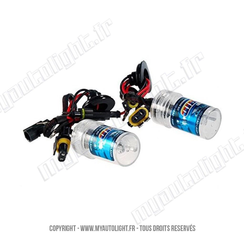 2 ampoules h7r 8000k 55w de rechange pour kit x non hid
