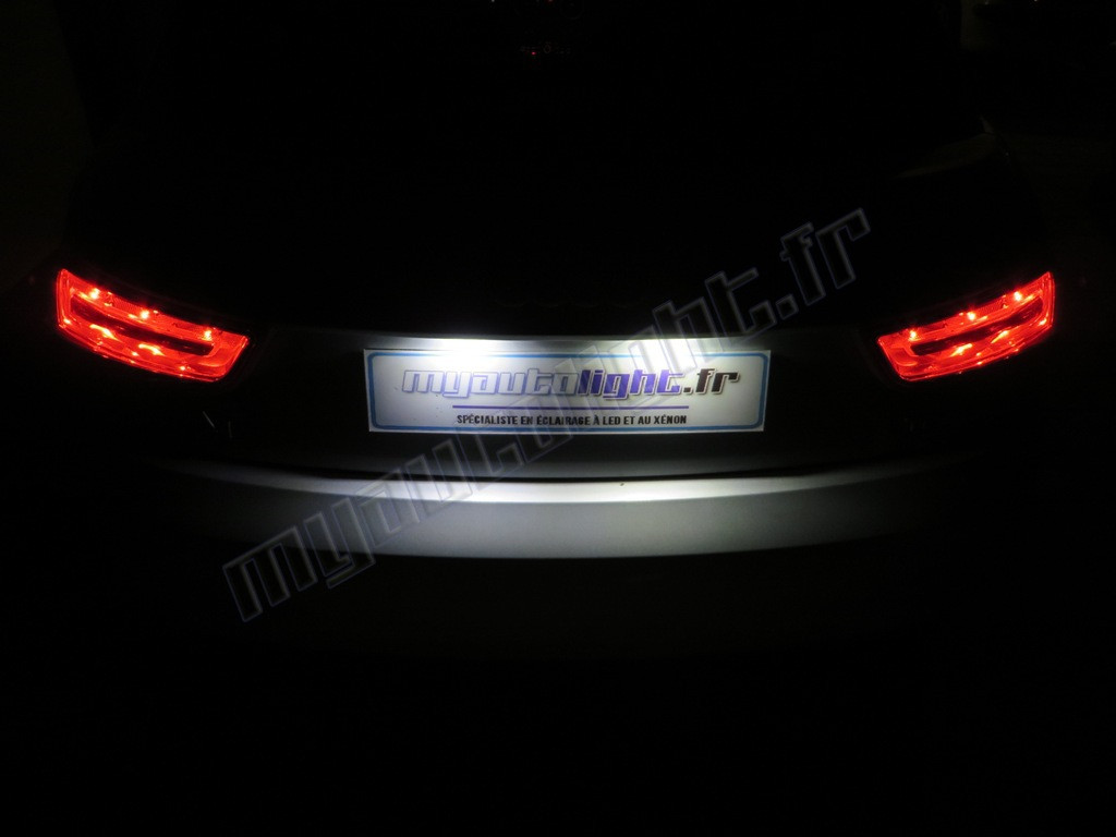 Immatriculation Citroen Plaque Peugeot Blanc Modules Led Bloc Full Psa iZOXPku