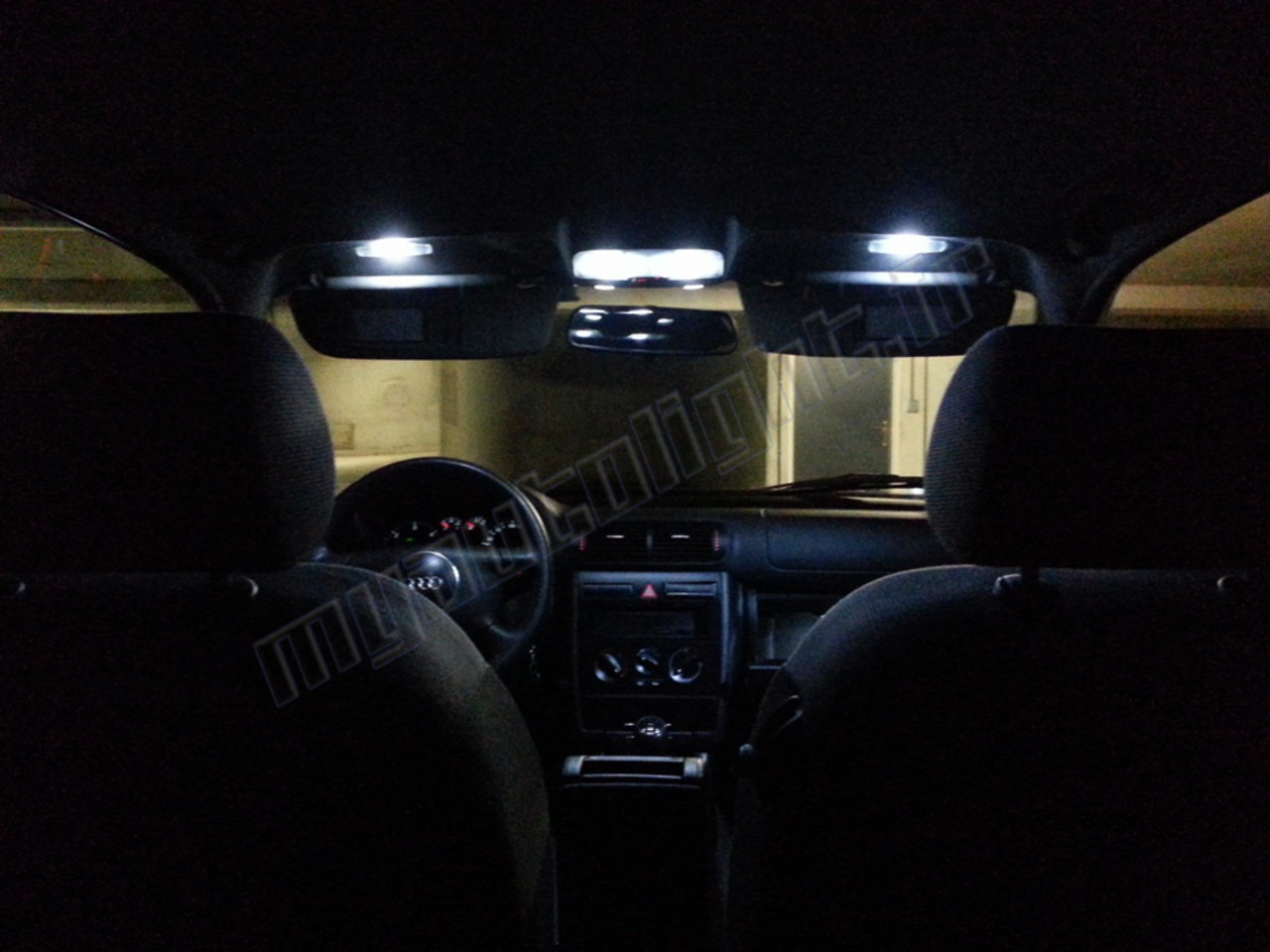 pack full led int rieur audi a3 8l a3 8l a3 audi pack led auto. Black Bedroom Furniture Sets. Home Design Ideas