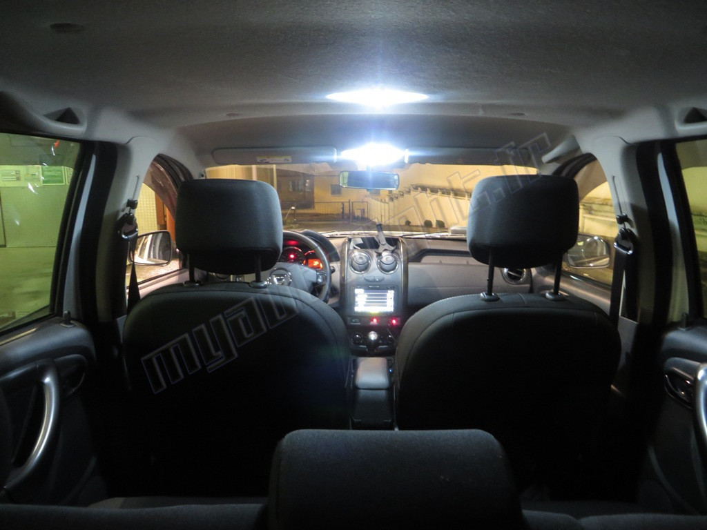 pack full led int rieur pour dacia duster. Black Bedroom Furniture Sets. Home Design Ideas