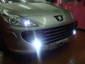 Pack Ampoules Anti Brouillards LED pour Peugeot 307 phase 2