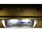 Eclairage de plaque à Led  pour Citroën Saxo