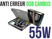 Kit Xénon HID 55W H7 - Anti Erreur ODB+